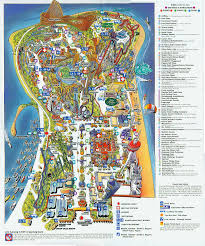 Pennsylvania On Map by 1999 Cedar Point Brochure U0026 Park Guide