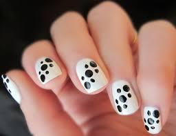 black nail polish designs nail art