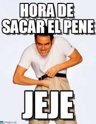 Meme Pene - hora de sacar el pene hora de meme on memegen