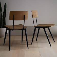 Cafe Chairs Design Ideas Home Design Impressive Metal And Wood Dining Chair Cafe Chairs