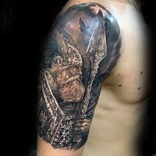 90 cool arm tattoos for guys manly design ideas viking warrior