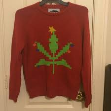67 off urban outfitters sweaters weed christmas sweater