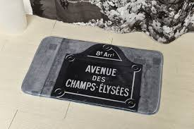 Paris Bathroom Rug by Home Decorating Basics That Never Go Out Of Style Evideco