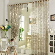 light grey sheer curtains thick light grey color leaf pattern sheer curtains