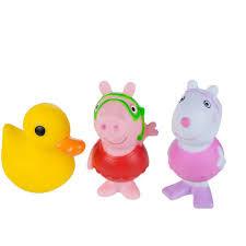 peppa pig bath squirtees 3 pack walmart