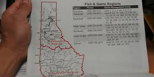 Idaho Hunting Unit Map Idaho Whitetail In November Bladeforums Com