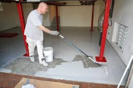 Epoxy Garage Floor Images by Ucoat It Do It Yourself Epoxy Floor Coating Kit Install Super