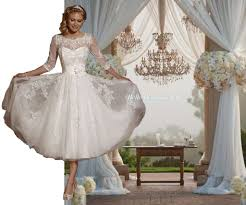 wedding dresses in the uk imogen ivory white tea length lace wedding bridal dress uk