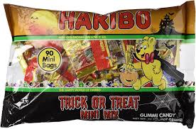 amazon com 90 haribo mini bags trick or treat mix halloween