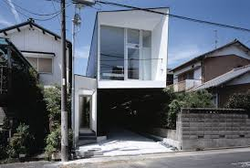 Narrow House Designs by M House By D I G Architects