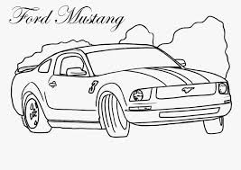 2018 ford mustang coloring pages coloring pages