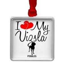 vizsla ornaments keepsake ornaments zazzle
