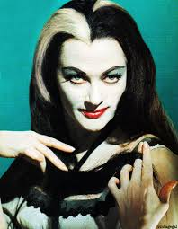 Munsters Halloween Costumes Lily Munster Color 1 Jpg 600 772 Píxeles Halloween Retro