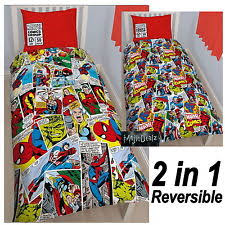 Marvel Double Duvet Cover Iron Man Bedding Set Cheap Amazing Spiderman Bedroom Sets Best