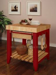 small kitchen butcher block island color story crimson butcher block kitchen island by powell