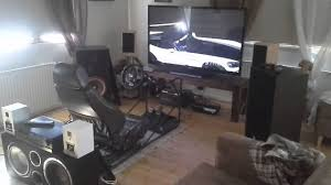 driving simulator in my livingroom youtube