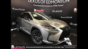 lexus jeep rx series 2017 atomic silver lexus rx 350 awd f sport series 3 in depth