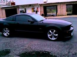 2008 Black Mustang Gt Dk U0027s 2006 Mustang Gt Black On Black Custom Youtube