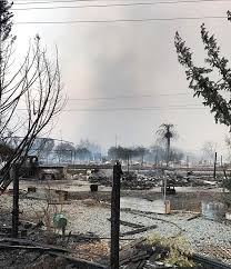 Chp Scale Locations 10 Fire Related Deaths Confirmed As North Bay Blazes Continue