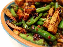 green bean thanksgiving recipes wholly vegan veganmofo day 15 tofu and green beans in black bean
