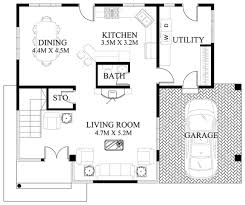 ground floor plan 50 images of 15 two storey modern houses with floor plans and
