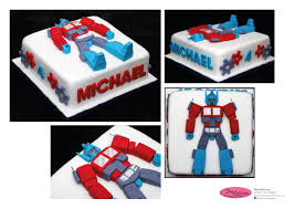 optimus prime birthday party transformers optimus prime cake birthday party