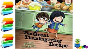 the great thanksgiving escape books for read aloud