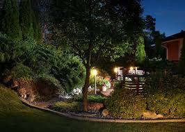 Outdoor Areas by Proper Lighting For Your Outdoor Areas Huskie U0027z Landscaping