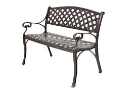 keen wooden bench with metal frame tags cast iron outdoor bench