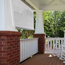 pvc window blind shade white walmart com