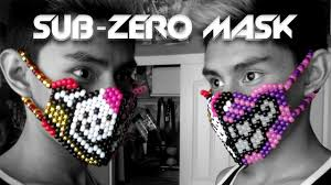 bead masks half sub zero kandi mask tutorial