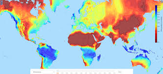 World Climate Map by Climate Maps Vivid Maps