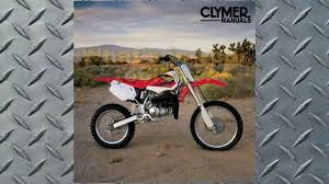 clymer manual honda cr80r u0026 cr80rb expert 1997 2002 manual