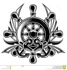 ship wheel and anchor tattoo boat wheel anchor tattoo fresh 2017