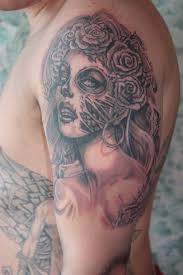 mens half sleeves tattoos half sleeve tattoo u2013 wonderful clown for men tattooshunter com