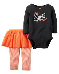 halloween body suit amazon com carter u0027s baby girls u0027 halloween bodysuit u0026 tutu pant