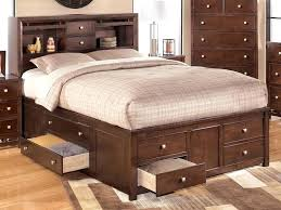 King Size Bed Frame With Storage Drawers Storage Bed Brilliant Bed Headboard And Frame New