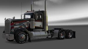 w900l aarons scs pinga w900l daycab american truck simulator mods