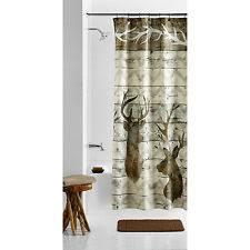 lodge shower curtains ebay