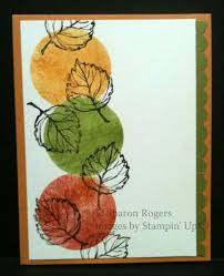 stampin up thanksgiving cards ideas more gently falling ideas stampin u0027 in my neighborhood