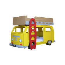 bunk beds girls camper van bay children u0027s bunk bed girls beds cuckooland