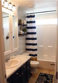 Navy And White Striped Shower Curtain Design Tips To Energize Your Bathroom U2014 Bergdahl Real Property