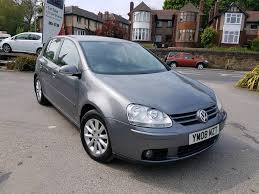 2008 08 reg volkswagen golf 1 9 tdi match manual 5 door grey low
