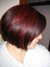 mahogany red hair with high lights dark auburn hair with cherry red highlights beautiful