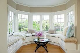 living room window seat home design