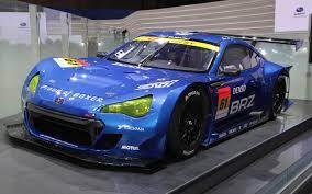 subaru street racing subaru brz super gt race car 2011 tokyo motor show motor trend