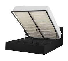 buy hygena chapton double ottoman bed frame black at argos co uk
