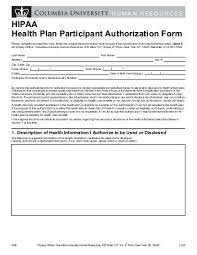 hipaa authorization form hipaa protecting patient privacy poster