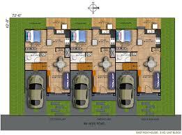 houses plans darts design com modern row houses plans house with regard to