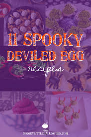 11 spooky deviled egg recipes spooky little halloween